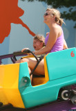 ella and alex on rollercoaster
