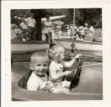 david and barb at coney island