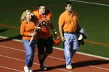 zak and parents on senior night