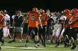 celebrating interception