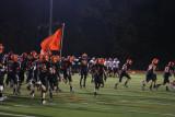 skins take the field at brown stadium