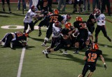 elijah carried the ball - norwell smashes a guy