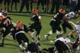 truesdell carries the ball