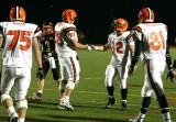 norwell and elliott celebrate touchdown