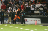 nick nears the end zone