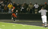 truesdell in the end zone