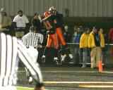 celebrating truesdell touchdown