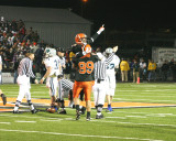 aylward and chapman celebrate fumble recovery