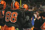 sideline celebrates touchdown