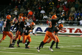 celebrating nelson interception