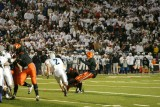 howard field goal to end the first half