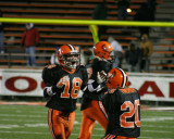 celebrating fumble recovery