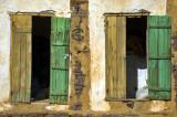 Twin doors...