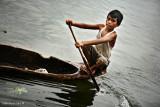 Boat boy, Lake Sebu