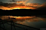 Sunrise in Lake Sebu