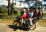 Habal habal scene in South Cotabato