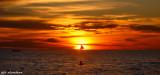 sunset at Bora