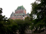 We stayed at this hotel, top floor -  Le Château Frontenac in the Upper Town (Haute-Ville) section of Old Québec (Vieux-Québec)