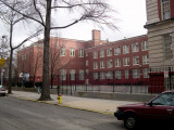 P.S. 139  - schoolyard and Richard's old stickball court (drew strike zone on far wall) and punchball court - on Argyle Road.