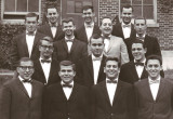 The dental class (1963). Richard is in the second row - middle.