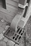 Benny and Jerry's Downspout B&W
