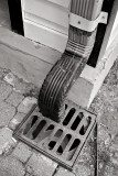 Benny and Jerry's Downspout B&W extreme