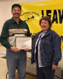 Kieth   Zielke's  Outstanding Service Award