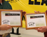 Lifetime Membership Certificates for Teunis and Pat Wyers