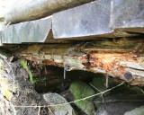 Bridge 2, rotten stringer