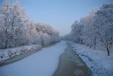 A frozen channel