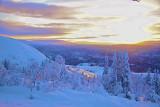 Sunrise over Duved