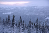 From Åreskutan south in morning light