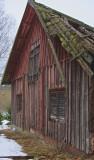 The old farmers barn in disrepair