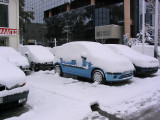 Athens in Snow - February 13, 2004
