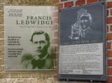 Francis Ledwidge and  Hedd Wyn