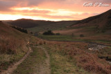 Sunset at Cwm yr Allt Llwyd
