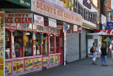 Ice cream shop at Coney Island