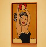 Roy Lichtenstein : Girl with Ball - 1961