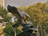 Eagle Statue : Albino Manca
