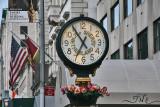 Clock on 5th Avenue