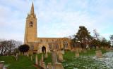 Yaxley Church and Graveyard
