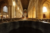 Inside Peterborough Cathedral