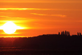 Sunset over the Fens