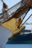 US Coast Guard training ship the Barque Eagle