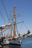U.S Coast Guard training ship, the Barque Eagle