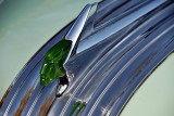 Matching green Chief Pontiac hood ornament