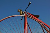 1876 high wheel bicycle (Penny - Farthing)