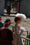 The (new) Queen observes the joust