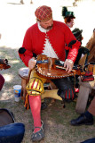 Hurdy Gurdy player