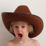 Wild cowgirl